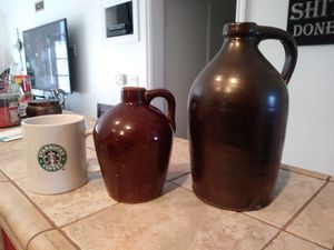 Stone jugs / for both for Sale in San Diego, CA