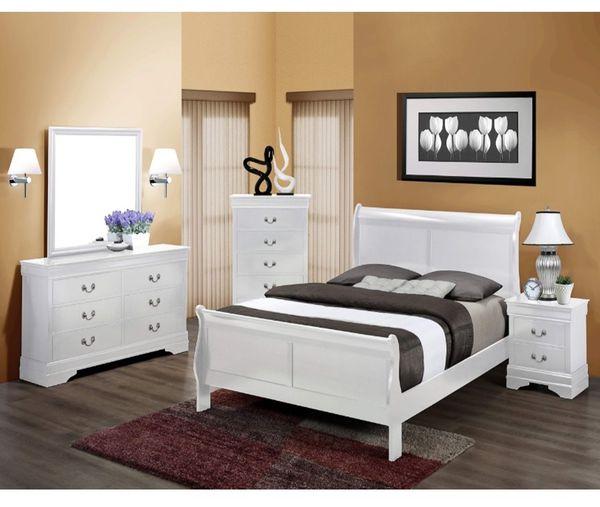 4PC Queen Bedroom Set For Sale In Glendale, AZ