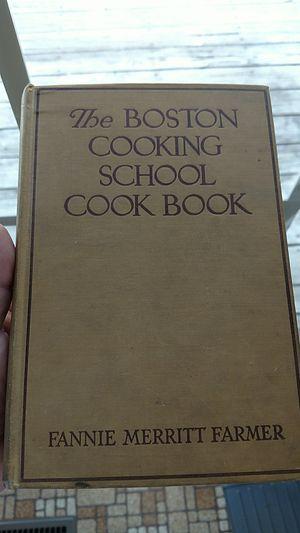 the boston cooking school cookbook 1930 for Sale in Appomattox, VA