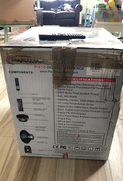 Paramax P510 surround system Thumbnail