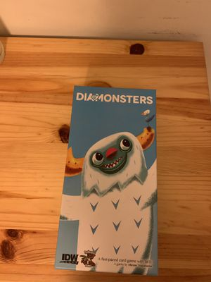 Diamonsters board game card game for Sale in Arlington, VA