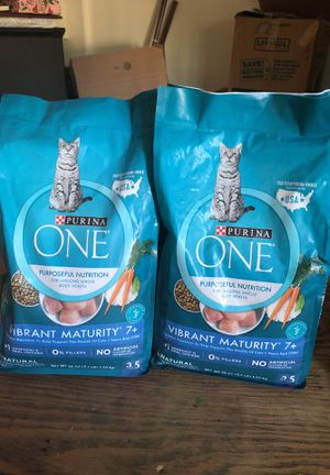 Purina one Vibrant maturity 7+ for Sale in Scottsdale, AZ