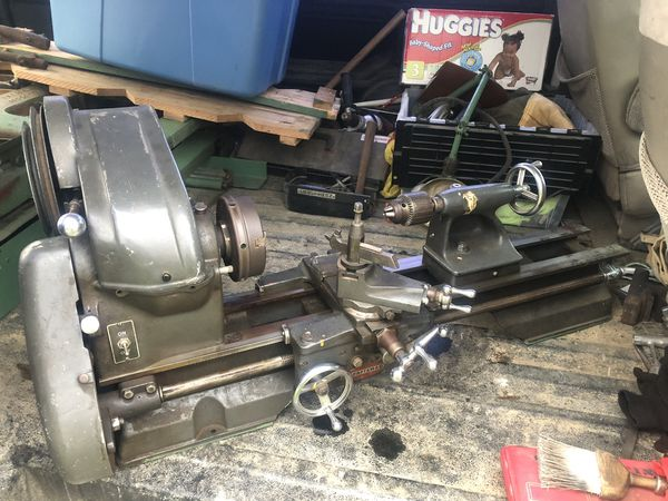 Metal Lathe For Sale >> Atlas Craftsman 12x24 Metal Lathe For Sale In Avon Oh Offerup