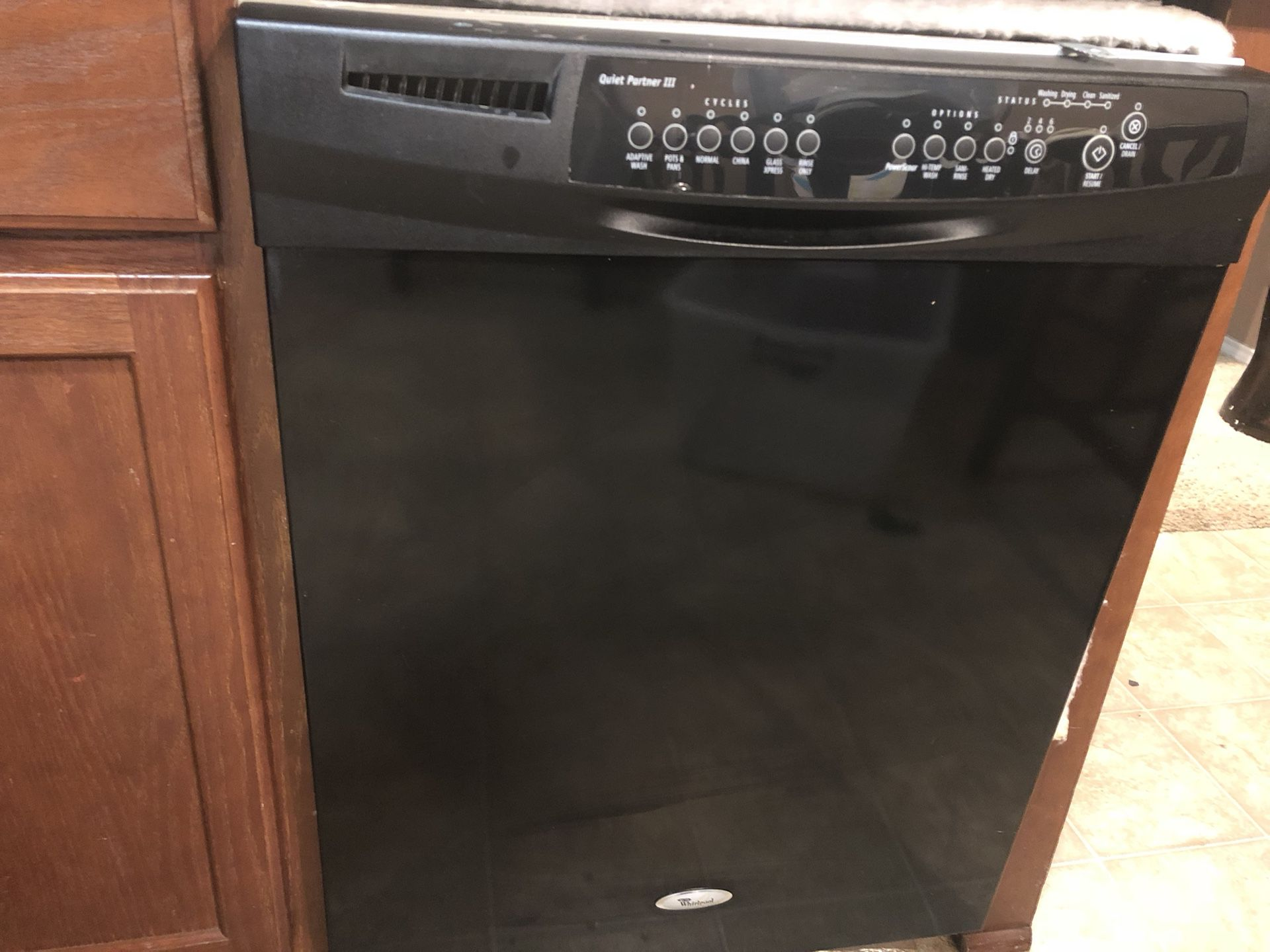Whirlpool Quiet Partner III Dishwasher