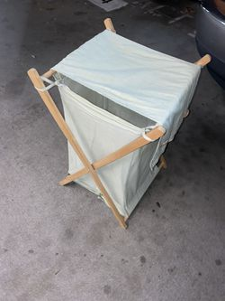Folding Clothes Hamper Thumbnail