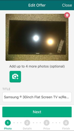 Samsung 30inch Flatscreen 80 obo for Sale in Portland, OR