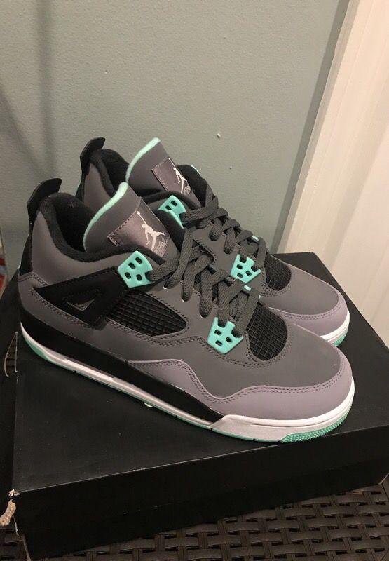 size 40 d2dbc 35fd5 Green glow Jordan 4s for Sale in Philadelphia, PA - OfferUp