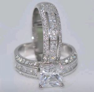 New 14 k white gold wedding ring set engagement ring for Sale in Orlando, FL