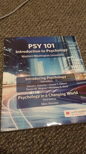 Introduction to psychology for Sale in Bellingham, WA