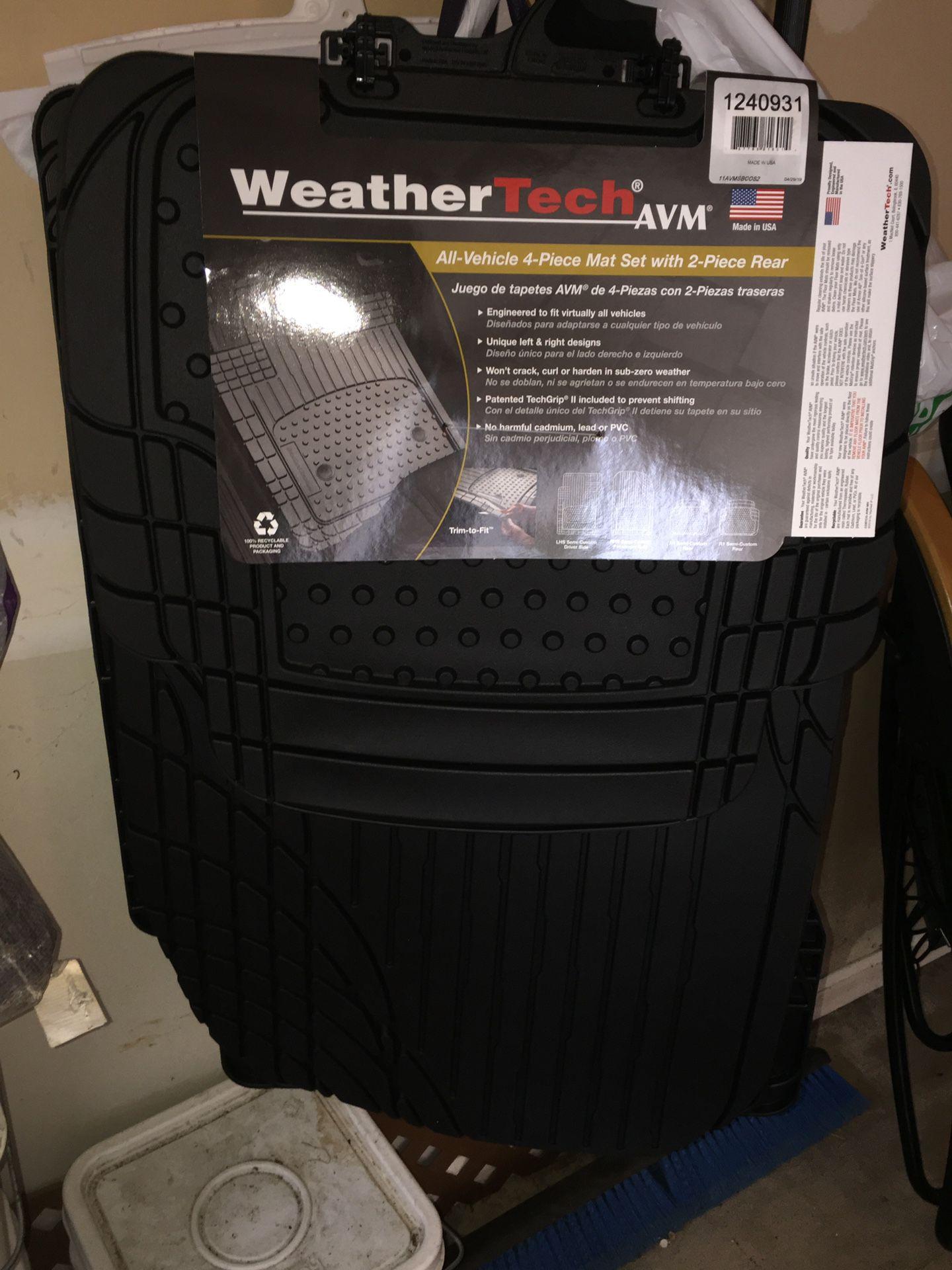 WeatherTech AVM Set of 4 Car Mats *BRAND NEW