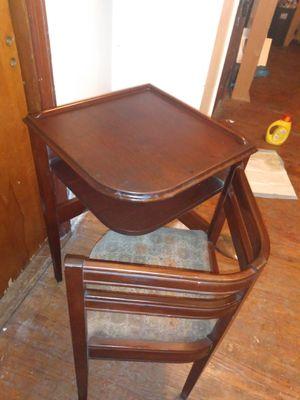 Vintage Corner Desk Gossip Chair Swing