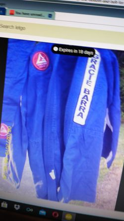 Gracie Barra Work Top And Bottom Thumbnail