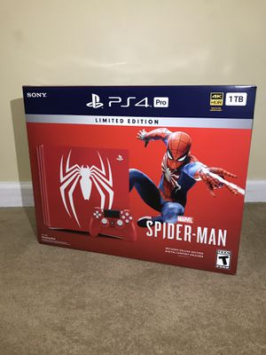 PS4™ Pro bundle (Limited Edition Marvel's Spider-Man) for Sale in Rockville, MD