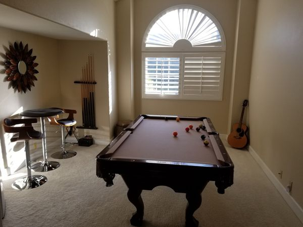 Brunswick Pool Table Ft For Sale In Mission Viejo CA OfferUp - Brunswick mission pool table