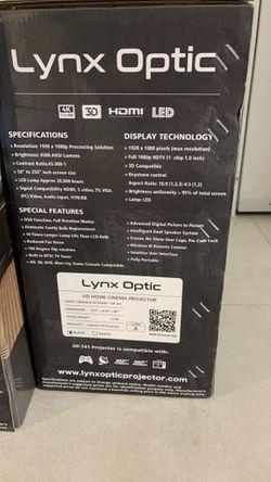 Lynx Optic Op 741 LED Smart Projector Thumbnail