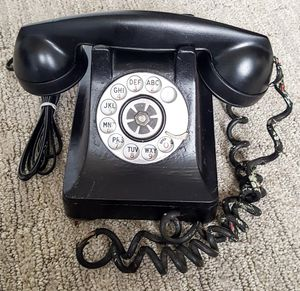 Authentic Antique Rotary Dial Telephone (decoration only) for Sale in Seattle, WA