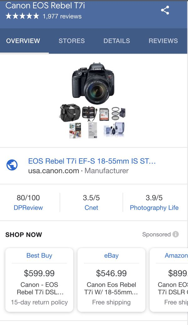 New And Used Dslr Camera For Sale In Columbus Ga Offerup