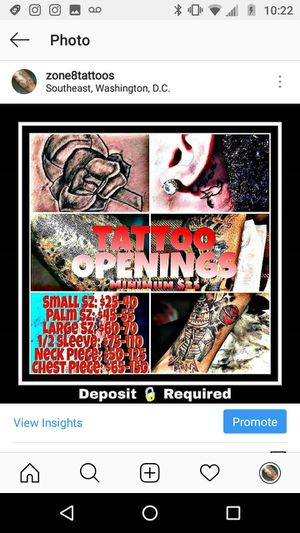 TATTOO KIT for Sale in Washington, MD