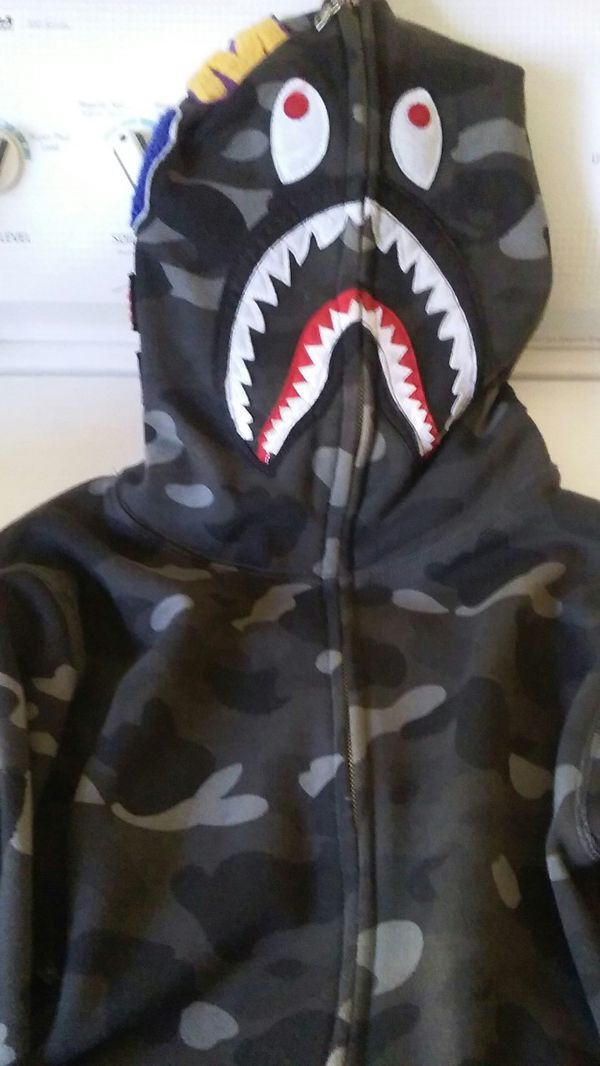 90d2b6886 BAPE A Bathing Ape Full Zip Camouflage Hoodie for Sale in San Jose, CA -  OfferUp