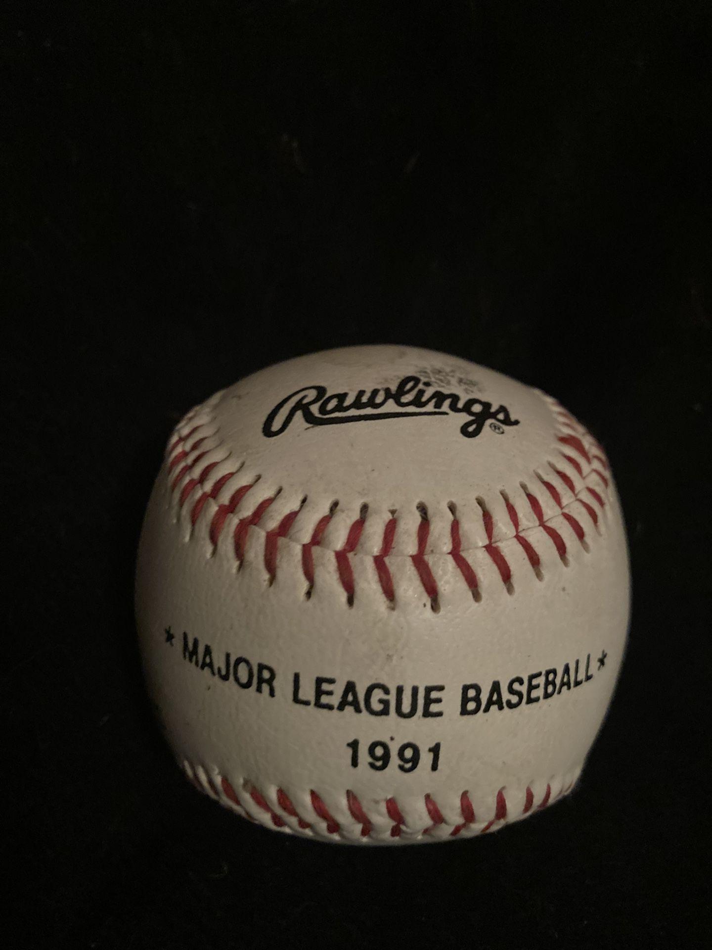 1991 Kellogs Tony The Tiger Official MLB Rawlings Baseball