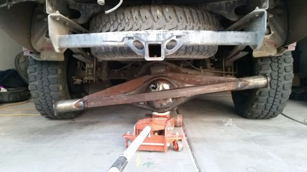 Trussed Toyota T100 Rear Axle housing for 8 4 for Sale in Phoenix, AZ -  OfferUp