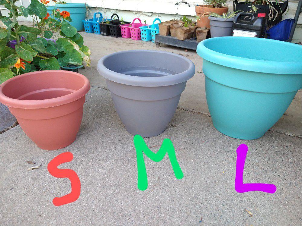 Macetas $3, 4, 5 - Plant Pots $3,4,5