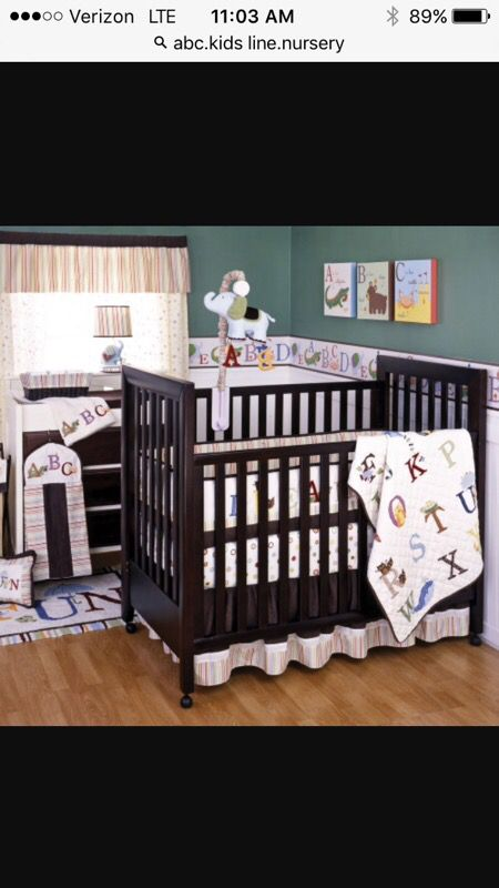 Kids Line Abc Nursery Decor Bedding And Pictures For In Marysville Wa Offerup