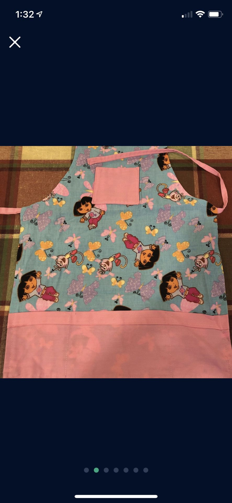 Baby Girl Bibs Paint Cover And Apron Smoke And Pet Free
