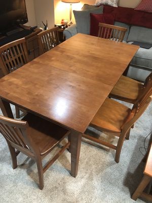Table and 6 chairs for Sale in Washington, DC