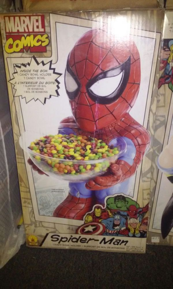 Spider-Man Candy Bowl holder for Sale in Stockton, CA - OfferUp