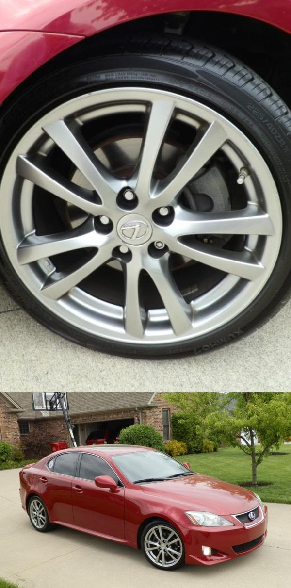 $1200 Low Price! 2008 Lexus IS 250 Red/black For Sale In