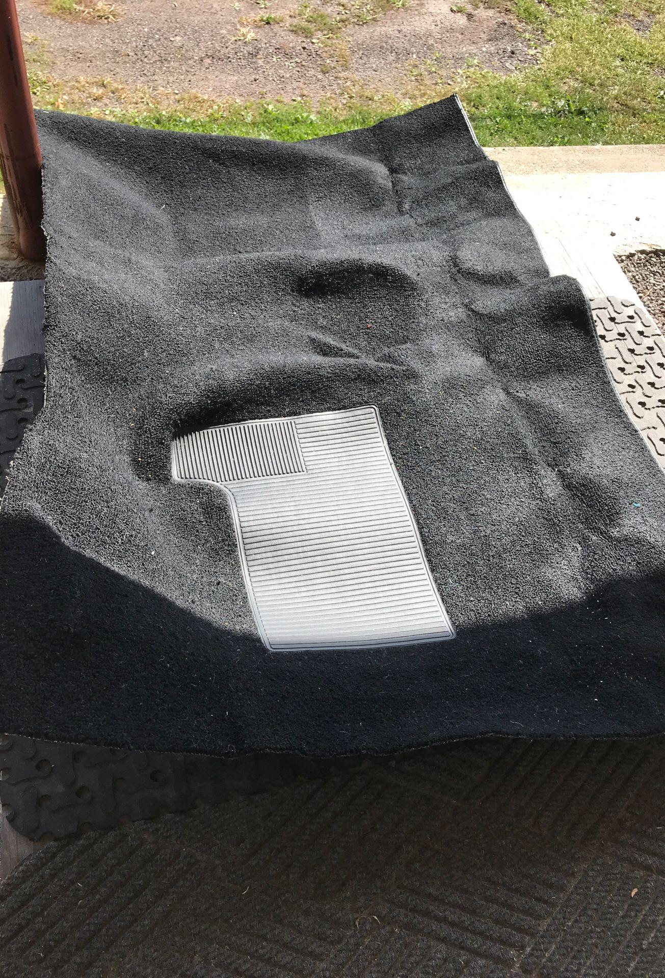 Auto custom carpets/Fits 68-72 GM Black