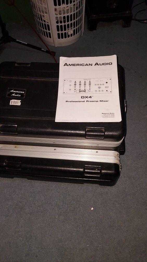 Audio Mixer American Dj X4