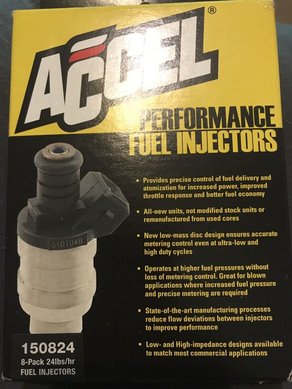Accel Performance Fuel Injectors for Sale in Morrow, GA - OfferUp