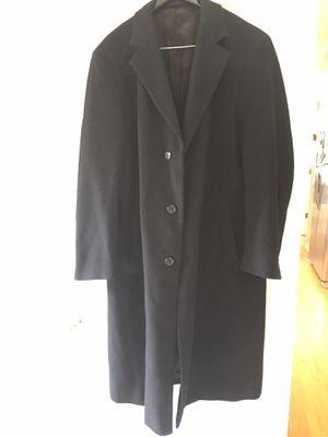 StAfford WOOL winter COAT / Men's long coat (large 44) for Sale in Elgin, IL
