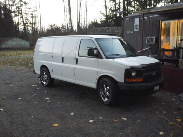 2008 Chevy Express 3 4 Ton Custom Conversion Van For Sale In Marysville WA