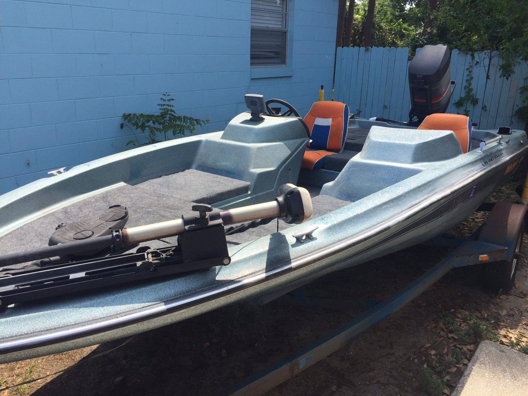 Photo Tidecraft Bass Boat 4 Sale Or Trade READ AD