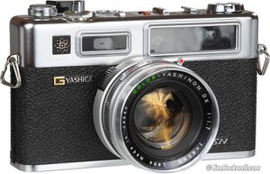 Yashica 35 mm GSN camera for Sale in Tysons, VA