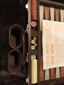 Vintage Backgammon Set Thumbnail