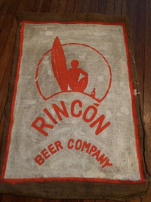 Rincon Beer Company Logo printed on Puerto Rican Coffee Bag for Sale in Washington, DC