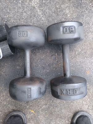 York dumbells for Sale in Tampa, FL
