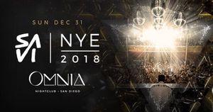 NYE at Omnia Nightclub w/ Savi for Sale in San Diego, CA