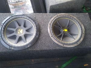 Two 12-inch kickers for Sale in Louisville, KY
