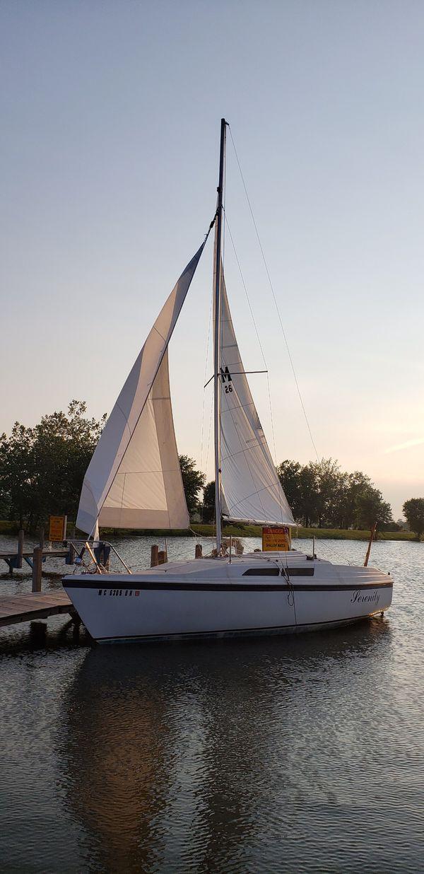 1990 macgregor 26 sail boat