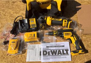 Photo Dewalt DCK263 Drywall Screwgun & Cut-Out Tool Combo Kit - NEW