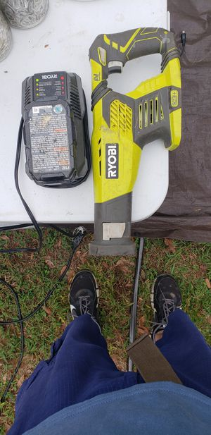 Ryobi sawzall 18v cordless with battery and charger for Sale in Dade City, FL