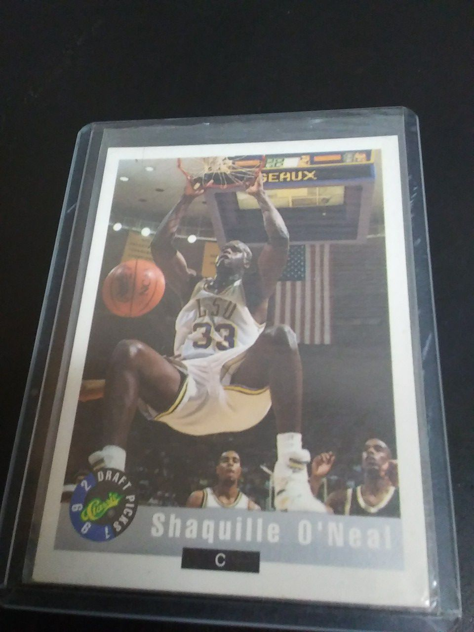 Shaquille Oneal 1992 draft pick classic