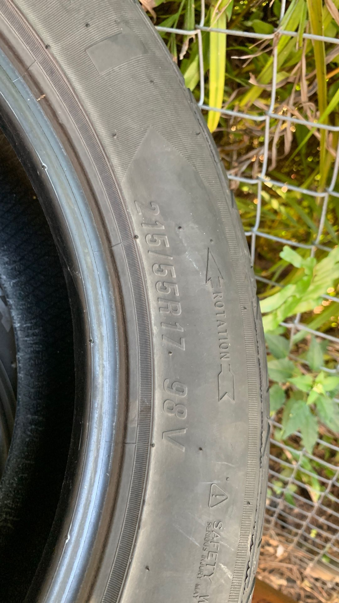 Used Tires 215/55R17