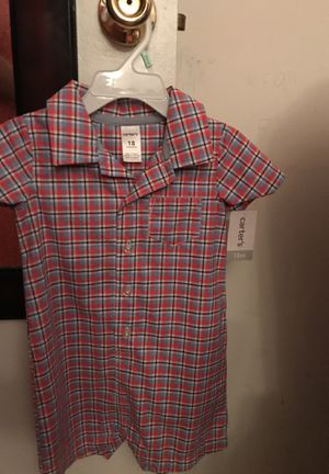 18 months boy clothes with tag never worn for Sale in Centreville, VA