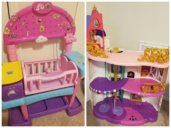 House Toys For Girls : Girls nursery play set and doll house games toys in dallas tx
